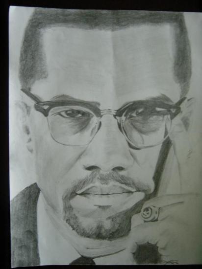 Malcolm X par JasonRaysor